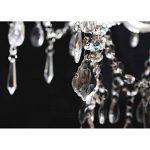 vidaXL Lustre vénitien baroque 12 feux 1600 cristaux lampe luminaire de la marque vidaXL image 3 produit