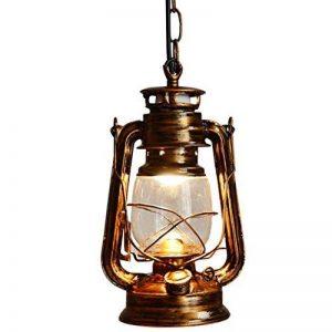 Vintage E27 Edison Kérosène Pétrole Lampe Suspensions Lèche-murs Vintage Applique Lampe Lanterne ampoule E27/E26 Diamètre 15,5 cm de la marque EUBEISAQI image 0 produit