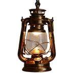 Vintage E27 Edison Kérosène Pétrole Lampe Suspensions Lèche-murs Vintage Applique Lampe Lanterne ampoule E27/E26 Diamètre 15,5 cm de la marque EUBEISAQI image 4 produit
