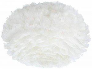 Vita 02010 Eos Lampe Suspension Plumes d'Oies/Papier/Acier Blanc de la marque Vita image 0 produit