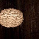 Vita 02010 Eos Lampe Suspension Plumes d'Oies/Papier/Acier Blanc de la marque Vita image 2 produit