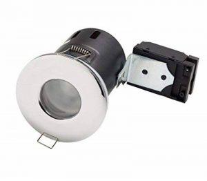 Wattlite à brancher sur secteur GU10 IP65 Spot LED encastrable de plafond pour salle de bain Chromé de la marque Wattlite image 0 produit