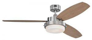 Westinghouse 7205240 Alloy Ventilateur de plafond E27 Métal Nickel brossé de la marque Westinghouse image 0 produit