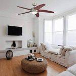 Westinghouse 7256440 Bendam Ventilateur de plafond R7s 80 W Métal Étain foncé de la marque Westinghouse image 4 produit