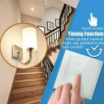 Wifi Smart Light Switch, Wireless Echo Remote Control Light Switch Work With WLAN Support Amazon Alexa & Google Home, Timing Function, Overload Protection, Control Your Fixtures From Anywhere ¡ (Switch-1 Gang) de la marque GREMAG image 2 produit