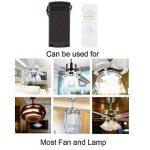 Wildlead universel ventilateur de plafond lampe kit de distribution télécommande sans fil 110–220V de la marque Wildlead image 2 produit