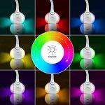 WILIT HZ T3 5W Lampe de Table Dimmable, Lampe de Bureau LED, Lampe de Chevet pour Enfants, Champ Tactile pour la Lumière de Couleur et 3 Niveaux de Luminosité, Confortable pour les Yeux, Blanc de la marque WILIT image 2 produit