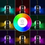 WILIT T3 Lampe de bureau LED 5W Enfant Lampe de Table Dimmable avec col de cygne tactile pour lampe de table, 3 niveaux de luminosité, lampe d'ambiance Noir de la marque WILIT image 2 produit
