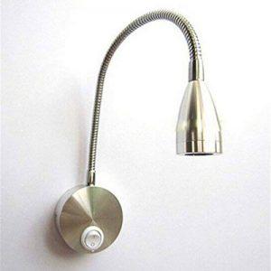 WINOMO Lampe de Lecture LED Applique Murale 3W avec Interrupteur (Blanc Chaud) de la marque WINOMO image 0 produit