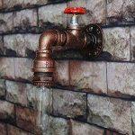 WMING Rétro Tuyau d'eau Lampe Murale Steampunk Antique Loft Industriel Bar Café Restaurant Salon Décoration Lampe (Pas D'ampoule) de la marque WMING image 1 produit