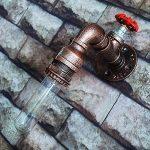WMING Rétro Tuyau d'eau Lampe Murale Steampunk Antique Loft Industriel Bar Café Restaurant Salon Décoration Lampe (Pas D'ampoule) de la marque WMING image 2 produit