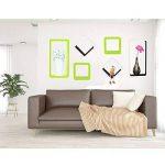 WOLTU RG9229or Lot de 3 Étagère Murale Salon du Cube rétro Étagère,étagère Cube Murale en Bois MDF, étagère CD DVD Murale,Blanc Orange de la marque WOLTU image 3 produit