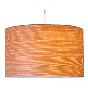 Woody en bois véritable placage (Saule) Abat-jour pour table, de sur pied et de lampes suspendues H: 22cm D:36cm de la marque Woody image 0 produit