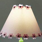 Wshfor Lampe de bureau pour enfants, lampe de chevet pour chambre à coucher fille, lampe décorative rose, lumière réglable, E27 ( Color : Push button switch ) de la marque Wshfor image 2 produit