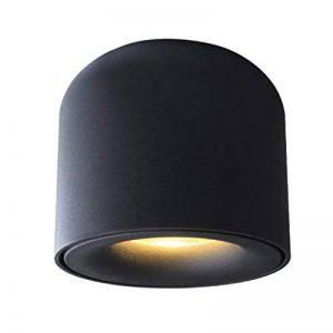WSXXN LED 5 W 7 W Entièrement En Aluminium Gommage Haute Couleur Rendu Plafond Design Salon Plafond Vêtements Boutique Éclairage Mur Spotlight (Couleur : NOIR-7W) de la marque Wsxxn image 0 produit