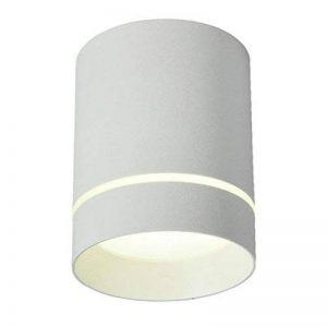 WSXXN LED 9W12W Nordique Minimaliste Ronde Plein En Plafond En Aluminium Downlight Salon Chambre Fond Spot Spot (noir, blanc) (Couleur : Blanc-High 10cm) de la marque Wsxxn image 0 produit