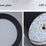 WSXXN LED 9W12W Nordique Minimaliste Ronde Plein En Plafond En Aluminium Downlight Salon Chambre Fond Spot Spot (noir, blanc) (Couleur : Blanc-High 10cm) de la marque Wsxxn image 4 produit