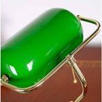 XIANGYU Rétro lampe de table traditionnelle de style de banquiers de lampe et abat-jour en verre vert lampe de bureau de banquier pour l'étude de bureau de salon Lecture l ampe de bureau en métal de la marque Xiangyu image 4 produit