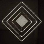XQY Chandelier de ménage, plafonnier Crystal Palace, Applique Murale en Fer forgé Moderne LED pendante Restaurant Restaurant Lustre Chambre plafonnier Lampe Salon éclairage - carré de la marque XQY image 2 produit