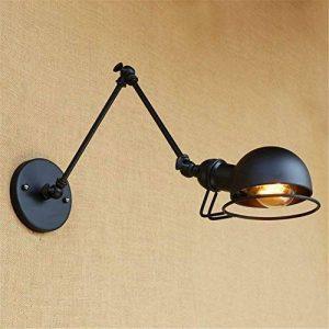 XY&XH Retro fashion LED lampe murale à long bras de fer, taille: longueur du bras 20 cm +20 de la marque XY&XH image 0 produit