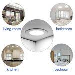 Xyd® 3W-24W LED rond fin Duvet de Dalle de plafond à encastrer Down Lampe pour salle à manger, salon, couloir, salle de conférence et de bureau léger d'économie d'énergie Blanc Froid (6000–6500K) de la marque XYD image 1 produit