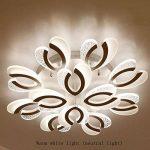 YAYONG Moderne Minimaliste en Forme de LED lustres créatifs Acrylique plafonniers Salon Chambre stepless Gradation lustres 12 tête de la marque YAYONG image 3 produit