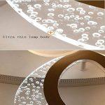 YAYONG Moderne Minimaliste en Forme de LED lustres créatifs Acrylique plafonniers Salon Chambre stepless Gradation lustres 12 tête de la marque YAYONG image 4 produit
