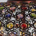 YDYG Pendentif Rétro Européen s'allume Lustre De La Salle À Manger Méditerranéenne Salon Cristal Lampe De Suspension,45Cm de la marque YDYG image 3 produit