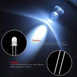 YoungRich 300 Pièces 3 mm 5 mm Diodes Électroluminescentes Diode Led 2 broches Tête Ronde Lampe LED kit assortis avec Rouge Jaune Bleu Blanc Vert de la marque YoungRich image 3 produit