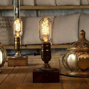 Yuens Vintage Loft Lampes de table Dimmable bois bureau lampe maison Light Bar Decor de la marque YUENSLIGHTING image 0 produit