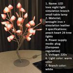 Yves25Tate Lampe de Table Design Rechargeable LED Love Petite Lampe de Table Fille Coeur Disposition de la Chambre veilleuse de la marque Yves25Tate image 1 produit
