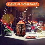 Zanflare Lampe de Sel Himalayenne Naturelle, Lumière de Nuit, Lampe de Chevet, Lampe Creative, Lampe Ambiance avec Bouton de Réglages d'Intensité Idéal pour Décorer Votre Maison. de la marque Zanflare image 2 produit