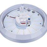 ZEYUN Plafond/Mur Monté Bulkhead Micro-ondes Capteur de Lumière, 16W, 4000K, Intérieur/Extérieur, IP65, fonction de Couloir de Lumière Dim réglable de la marque ZEYUN image 1 produit