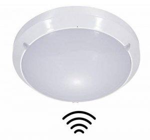 ZEYUN Plafond/Mur Monté Bulkhead Micro-ondes Capteur de Lumière, 16W, 4000K, Intérieur/Extérieur, IP65, fonction de Couloir de Lumière Dim réglable de la marque ZEYUN image 0 produit