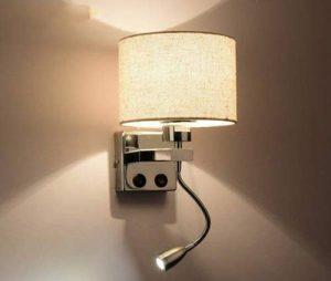 ZHDC® Modern Minimalist Creative Escaliers Hôtel Salon Chambre à couloir Balcon Led Lampes Murale Mur Commutateur Avec Interrupteur Sans Source De Lumière Liseuse murale ( style : A ) de la marque YYLBD image 0 produit