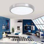 ZHMA 18W Plafonnier LED, Cool blanc, Lampe de Plafond Imperméable IP44, Luminaire Intérieur, Eclairage Rond, Parfait pour Plafond de Salle de Bain, Cuisine, Couloir, Salon de la marque ZHMA image 4 produit