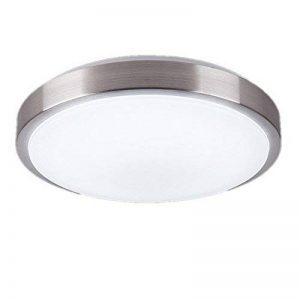 ZHMA 18W Plafonnier LED, Cool blanc, Lampe de Plafond Imperméable IP44, Luminaire Intérieur, Eclairage Rond, Parfait pour Plafond de Salle de Bain, Cuisine, Couloir, Salon de la marque ZHMA image 0 produit