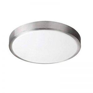 ZHMA 8W Plafonnier LED, 4200K Blanc naturel, 640 LM, Lampe de Plafond Imperméable IP44, Luminaire Intérieur, Eclairage Rond, Parfait pour Plafond de Salle de Bain, Cuisine, Couloir, Salon, 220V de la marque image 0 produit