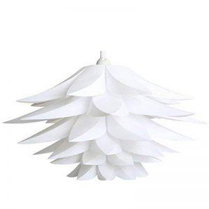 Zulux Abat-jour de Suspension Chandelier & Lustre pour Salon Noël Salle à Manger Chambre (Blanc) de la marque Excerando image 0 produit