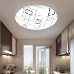 ZXW Lampe de plafonnier led Lampe de toilette de cuisine simple / Acrylique ( Couleur : A ) de la marque Plafonniers image 2 produit