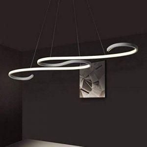 ZZ Joakoah Moderne LED Suspension,Design Lustre LED Pendentif Éclairage Luminaire de Plafond réglable en hauteur, pour Cuisine, Salle À Manger, Salon, Chambre D'enfants et de Restaurant de la marque image 0 produit