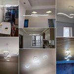ZZ Joakoah Moderne LED Suspension,Design Lustre LED Pendentif Éclairage Luminaire de Plafond réglable en hauteur, pour Cuisine, Salle À Manger, Salon, Chambre D'enfants et de Restaurant de la marque ZZ Joakoah image 4 produit